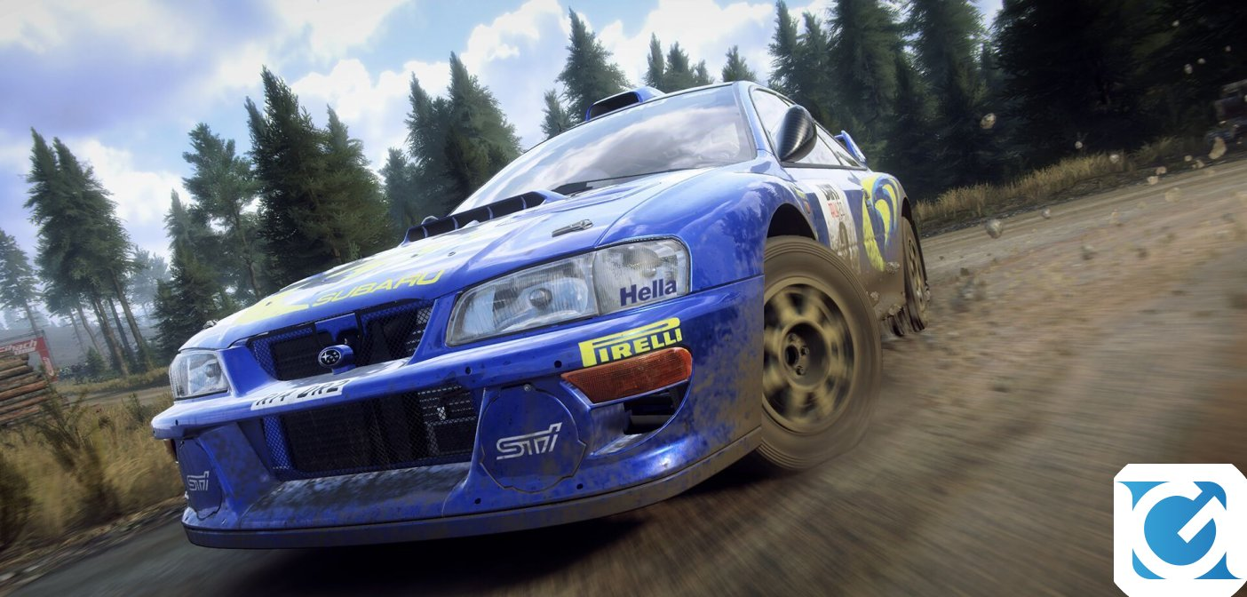Il Colin McRae FLAT OUT pack di DiRT Rally 2.0 arriva a marzo