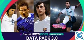 Il data pack 3.0 di eFootball PES 2021 è disponibile