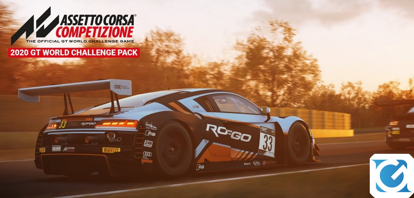 Il DLC 2020 GT World Challenge Pack di Assetto Corsa Competizione è ora disponibile su Steam