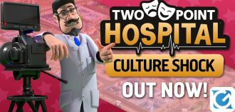 Il DLC di Two Point Hospital: Shock Culturale è disponibile su Steam