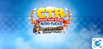 Il Gran Premio Winter Wonderland è disponibile su Crash Team Racing Nitro-Fueled
