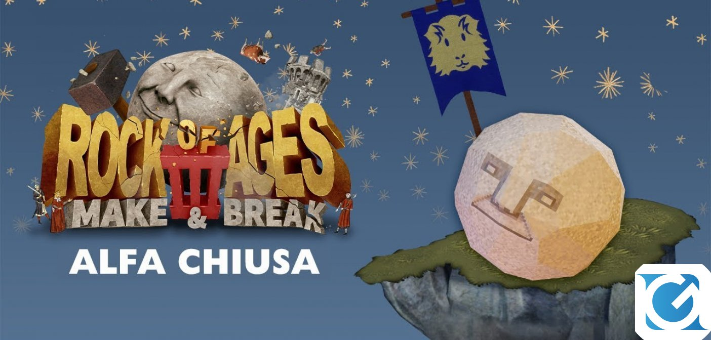 Il mese prossimo sarà disponibile l'Alfa chiusa di Rock of Ages 3: Make & Break