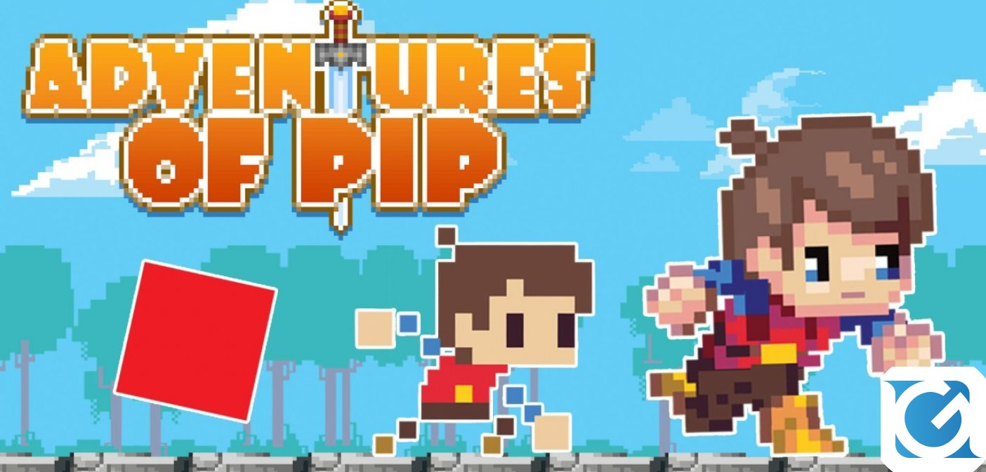 Il platform Adventures of Pip è disponibile per Nintendo Switch