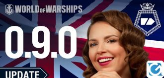 Il set Incrociatori pesanti britannici arriva in Early Access su World of Warships