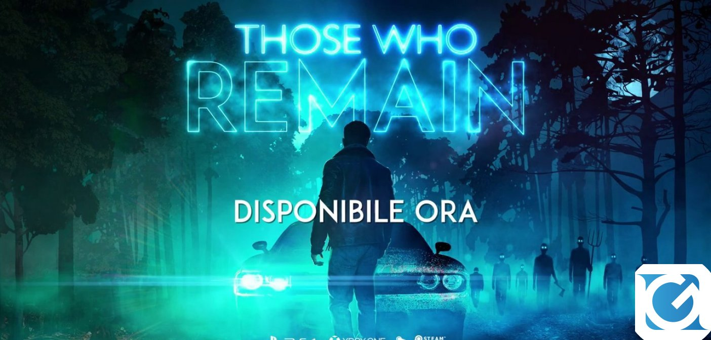 Il thriller psicologico Those Who Remain è disponibile