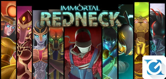 Immortal Redneck e' disponibile da oggi su XBOX One e Playstation 4