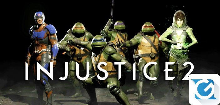 Le Teenage Mutant Ninja Turtles arrivano nel Multiverso di  Injustice 2