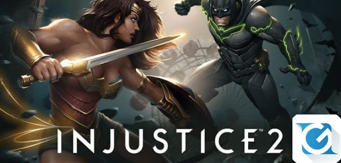 Injustice 2 e' disponibile per Android e iOS