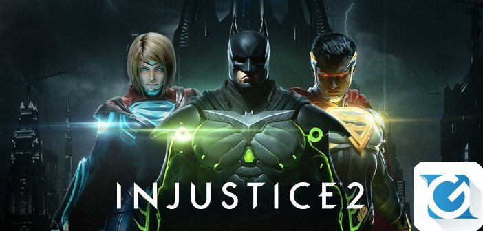 Injustice 2: Legendary Edition e' disponibile da oggi