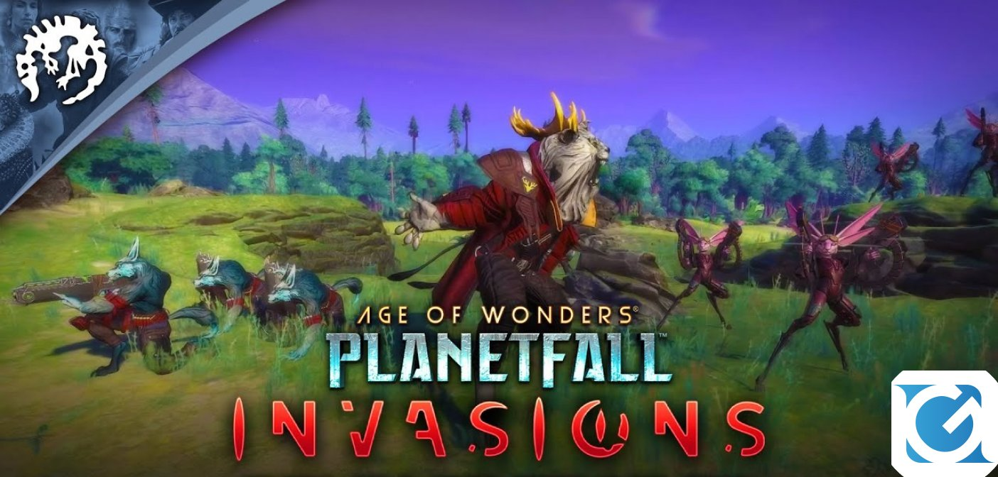 Invasions, la nuova espansione di Age of Wonders: Planetfall è disponibile per PC, XBOX ONE, PS4 e Mac