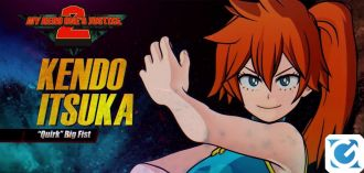 Itsuka Kendo è disponibile da oggi in My Hero One's Justice 2
