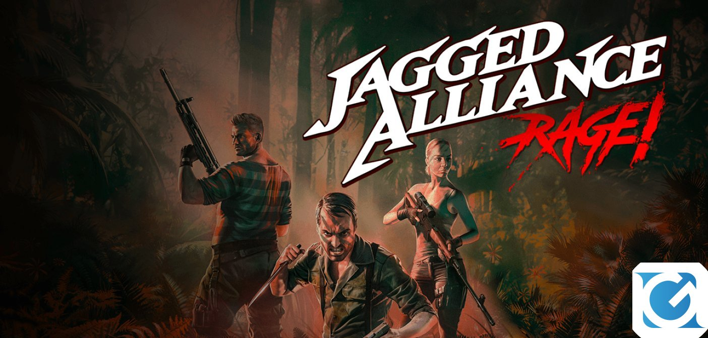 Un trailer svela la data d'uscita di Jagged Alliance: Rage!