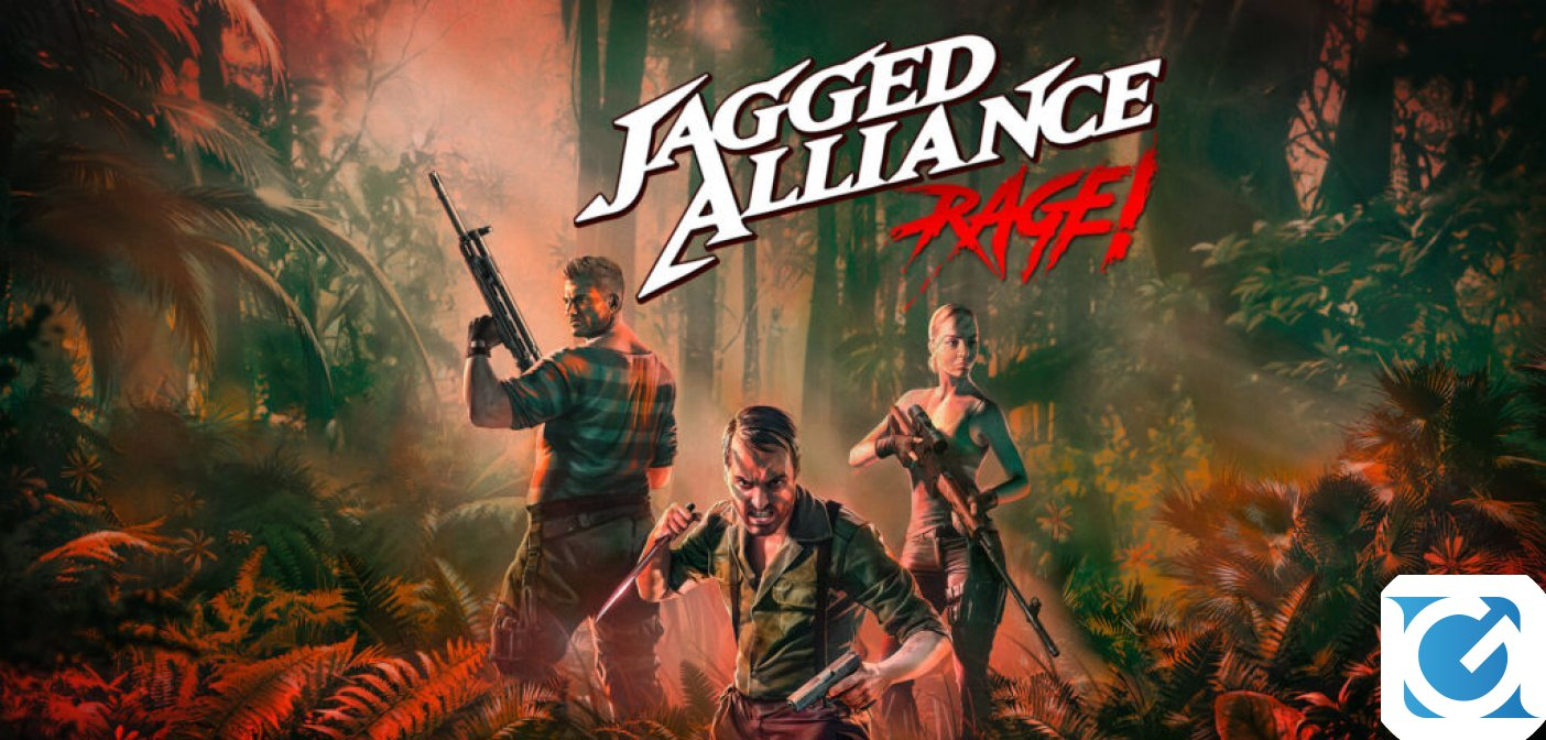 Jagged Alliance: Rage è disponibile per PC e console
