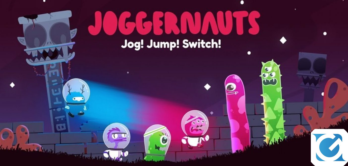 Joggernauts: un nuovo party game in arrivo su PC e Switch