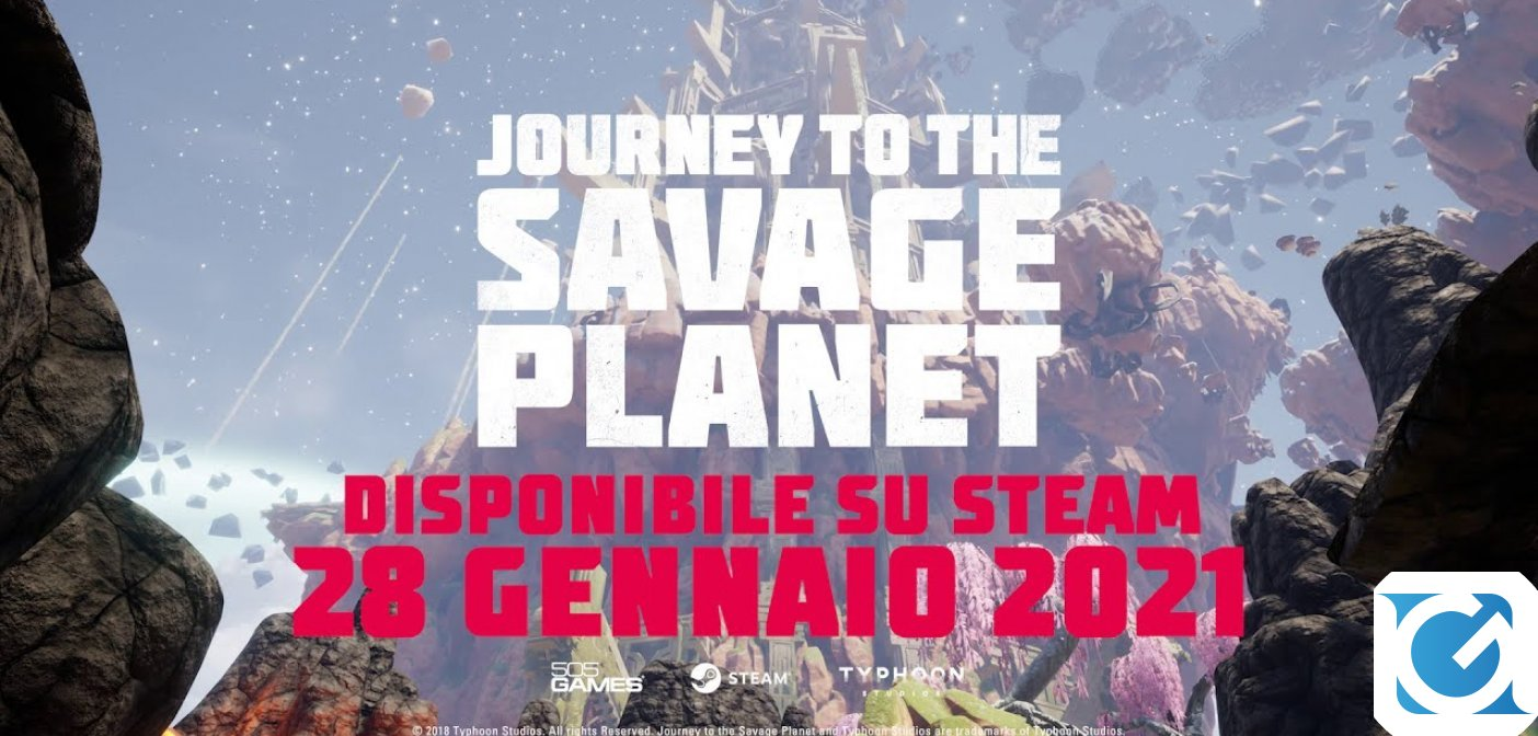 Journey To The Savage Planet è da oggi disponibile su Steam con uno sconto del 40% fino al 15 febbraio