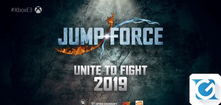 BANDAI Namco annuncia Jump Force per XBOX One, Playstation 4 e PC