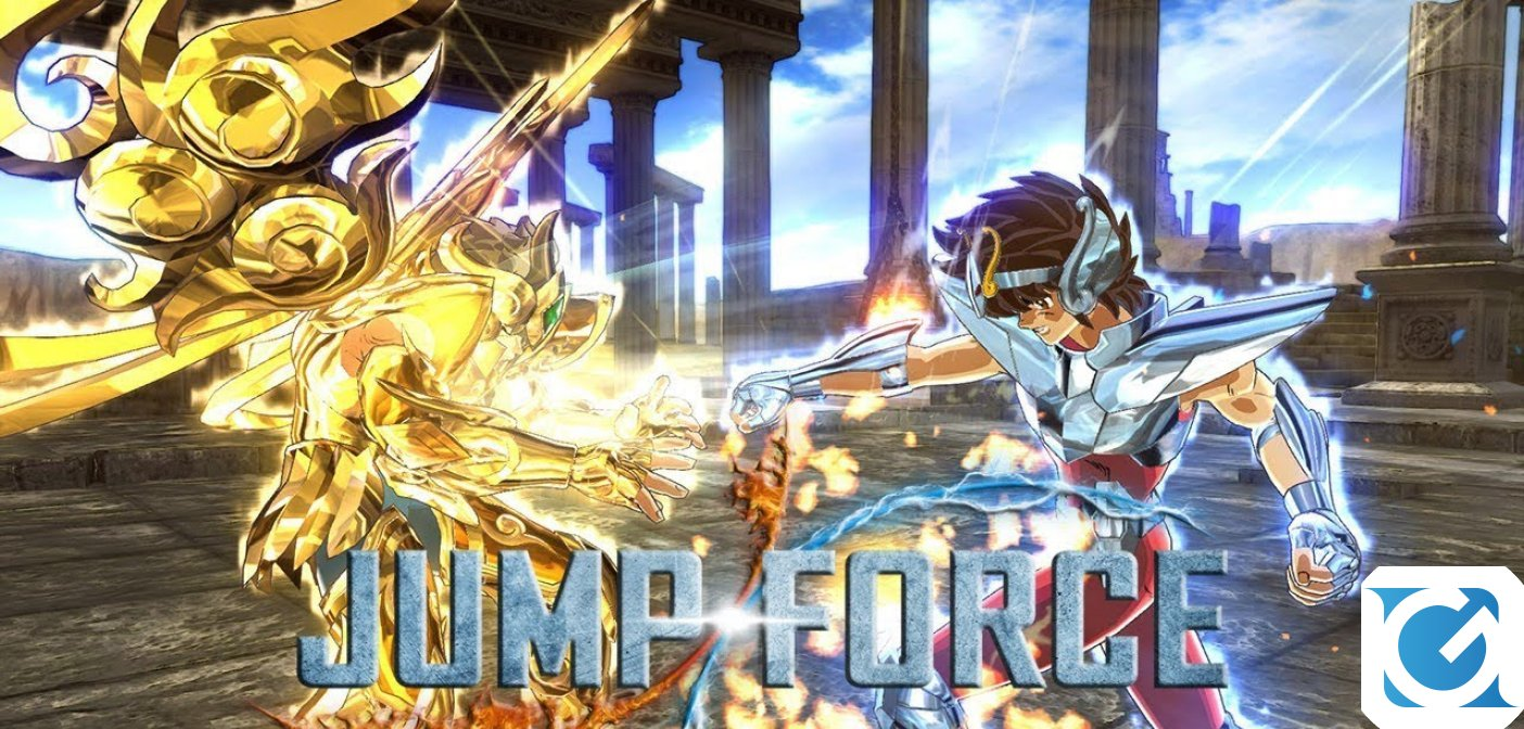 Pegasus e Dragon Shiryu si uniscono al cast di JUMP FORCE
