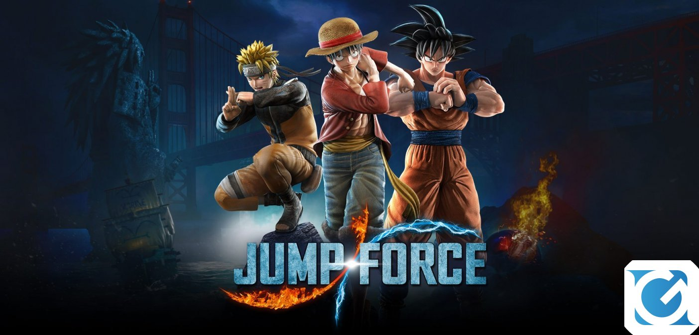 Largo all'open beta di Jump Force!