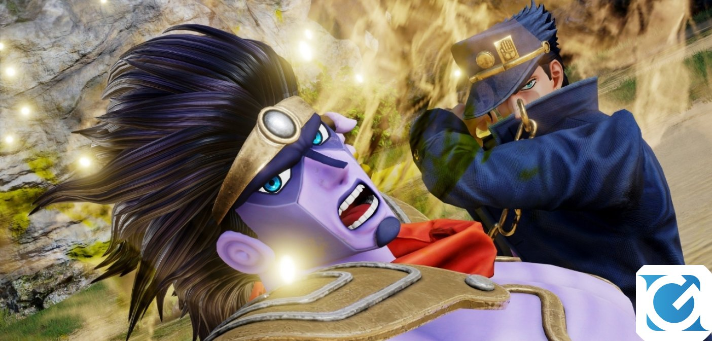 Jump Force: Nuovo gameplay trailer dedicato a JoJo's Bizarre Adventure