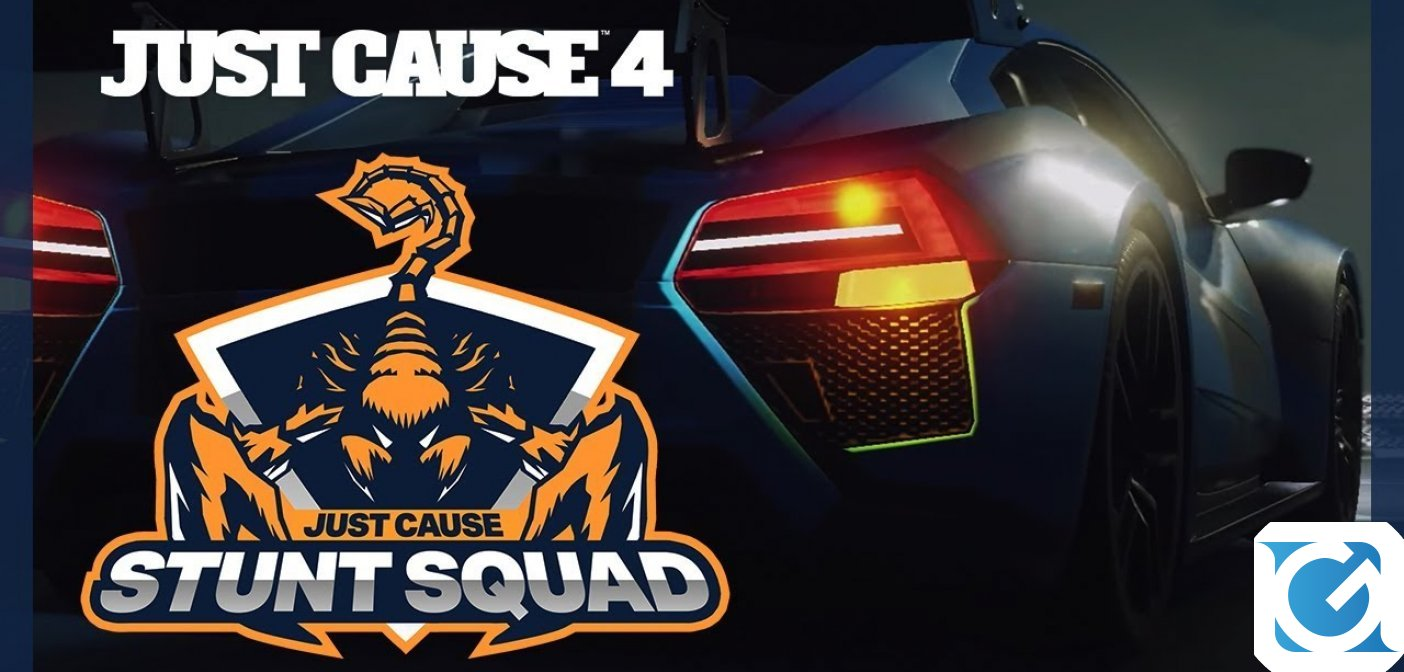 Just Cause 4 Stunt Squad è ora disponibile