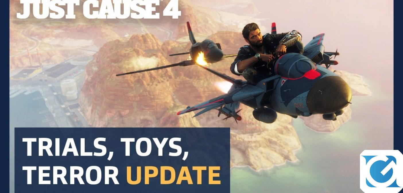 L'aggiornamento Trials, Toys And Terror di Just Cause 4 è online