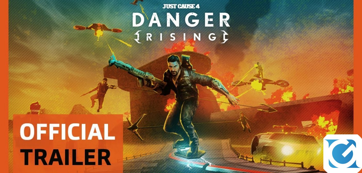 Annunciato Danger Rising per Just Cause 4