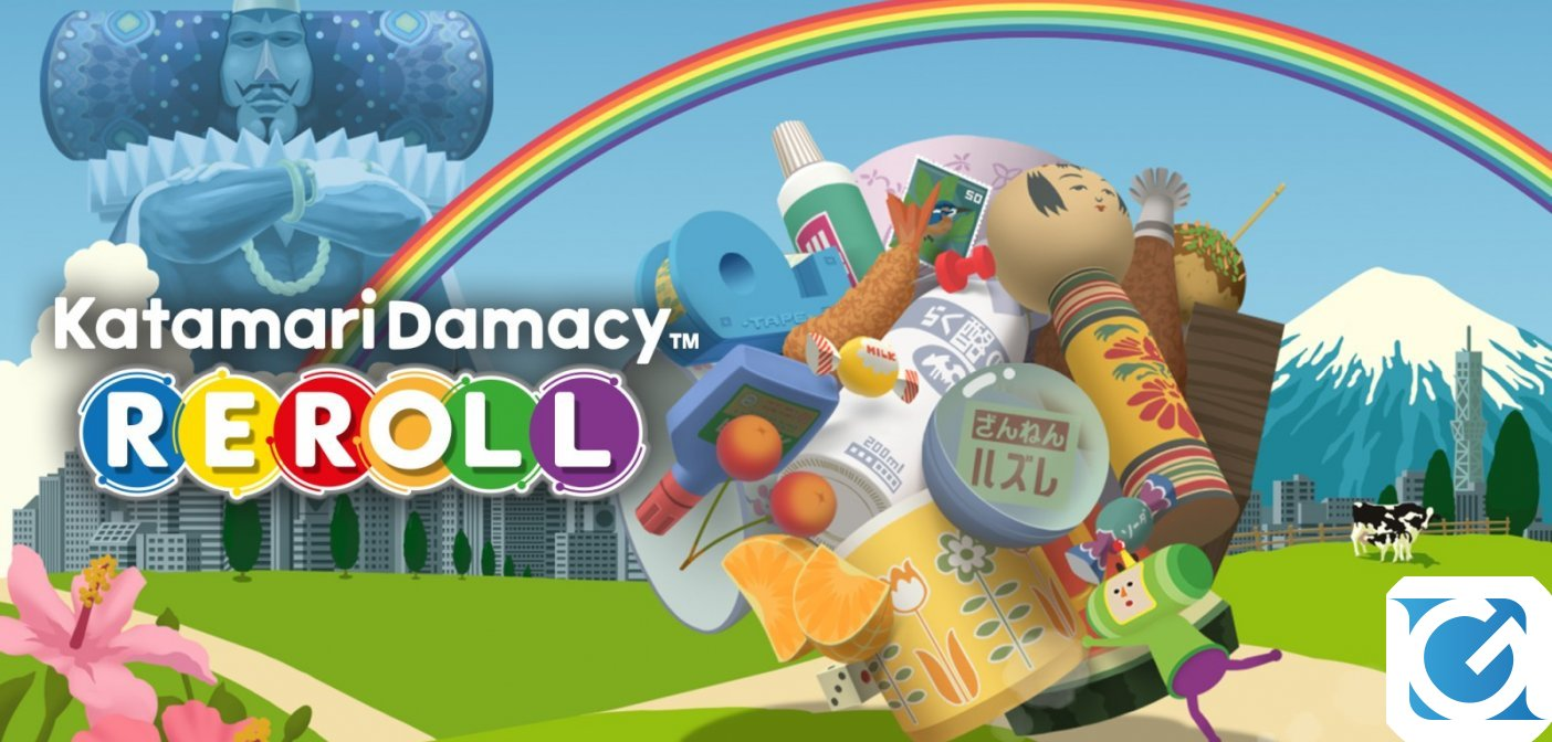 Katamari Damacy REROLL disponibile per PC e Switch