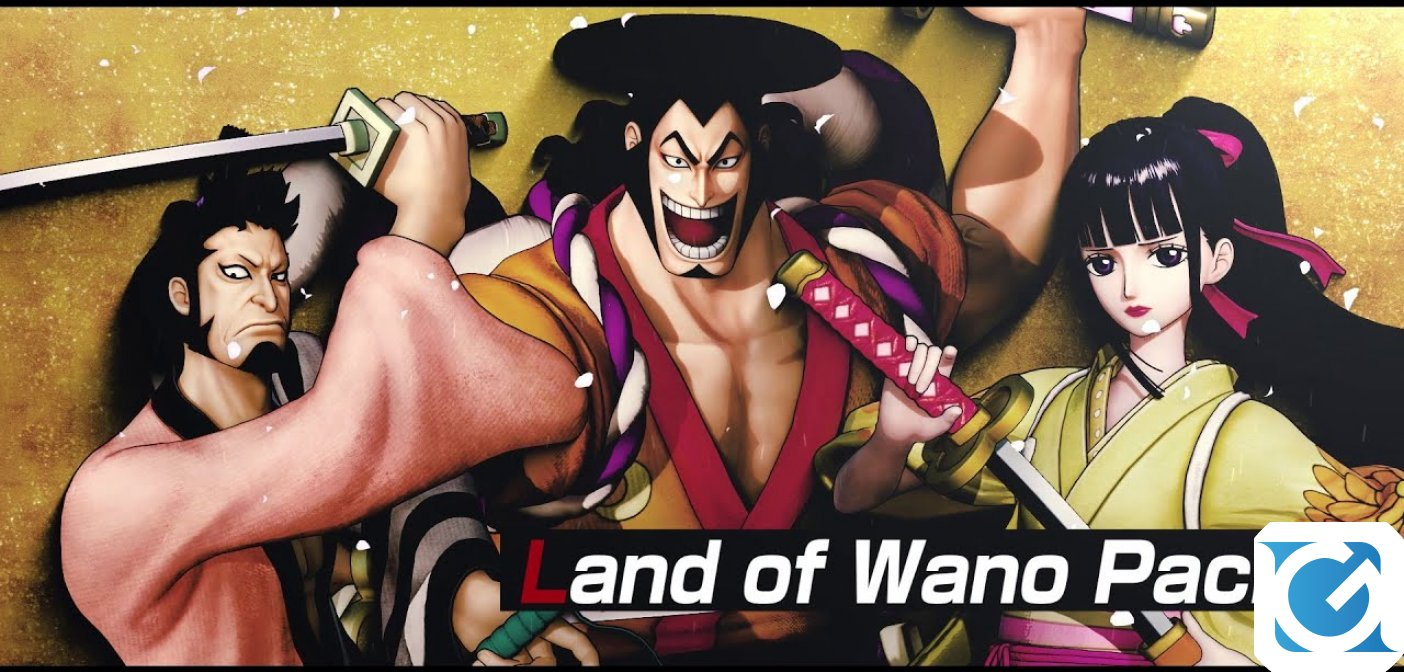 Kin'Emon, Okiku e Kozuki Oden sono ora disponibili per One Piece: Pirate Warriors 4