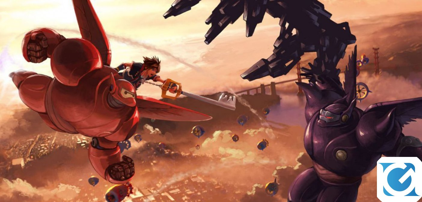 Big Hero 6 e' il protagonista del nuovo video di Kingdom Hearts III
