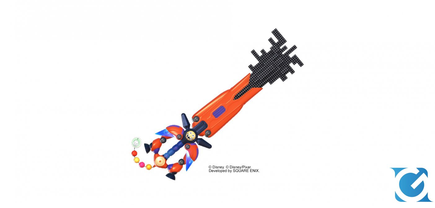 Kingdom Hearts III ecco gli artwork dei Keyblade