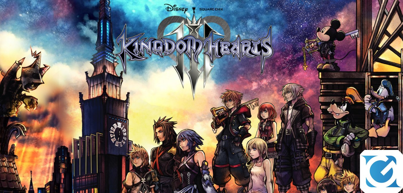 Kingdom Hearts III ecco il nuovo video gameplay