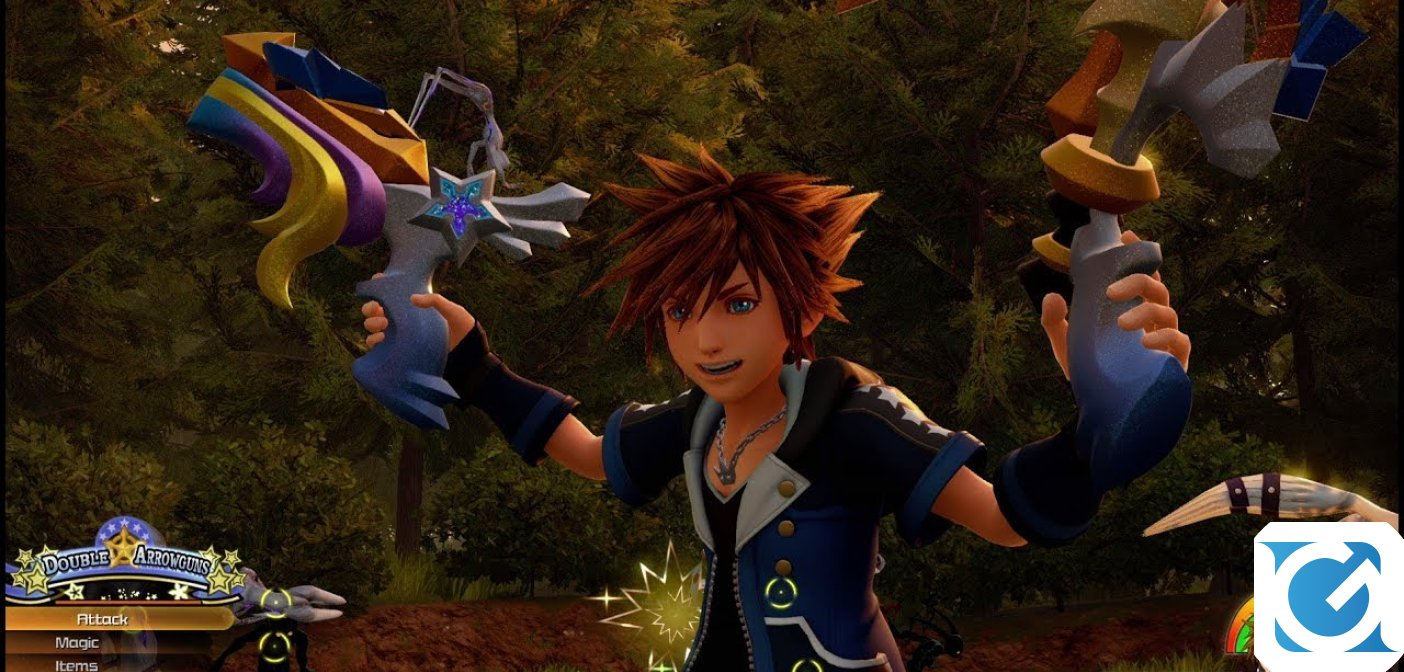 Kingdom Hearts III è disponibile per XBOX One e Playstation 4
