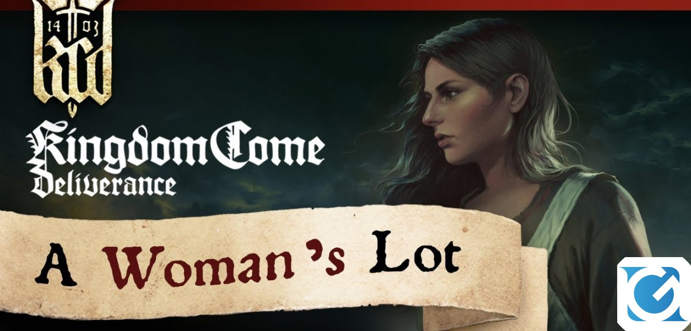 Kingdom Come: Deliverance: A Woman's Lot e la Royal Edition ora disponibili per PC