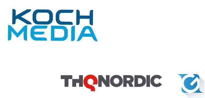 Koch Media distribuira' i titoli di THQ Nordic in Italia