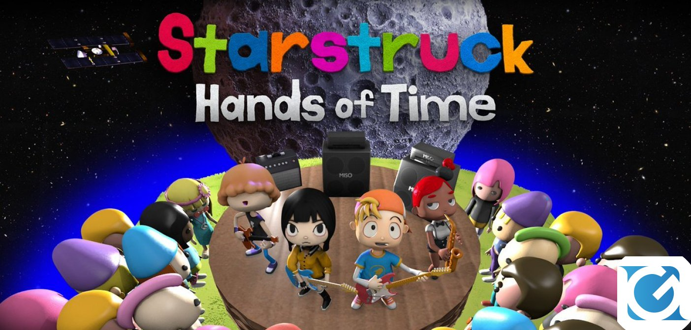 L'episodio prologo gratuito di Starstruck: Hands of Time è disponibile su Steam