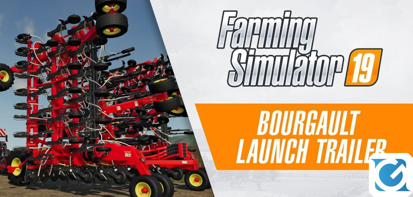 L'espansione Bourgault per Farming Simulator 19 è disponibile