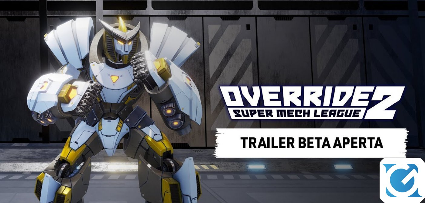 L'open beta per PS5, PS4 e PC del picchiaduro competitivo Override 2: Super Mech League è disponibile