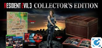 La Collector's Edition di Resident Evil 3 è prenotabile
