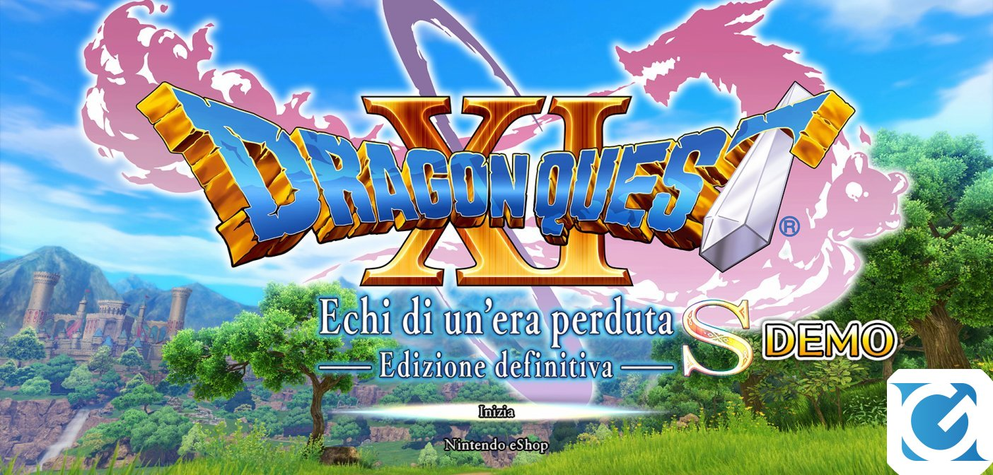 La demo di Dragon Quest XI S: Echi di un'Era Perduta – Edizione Definitiva è disponibile