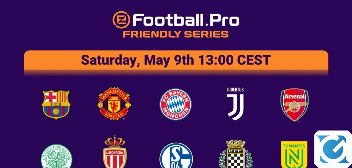 La Juventus torna in campo nel torneo eFootball.Pro Friendly Series