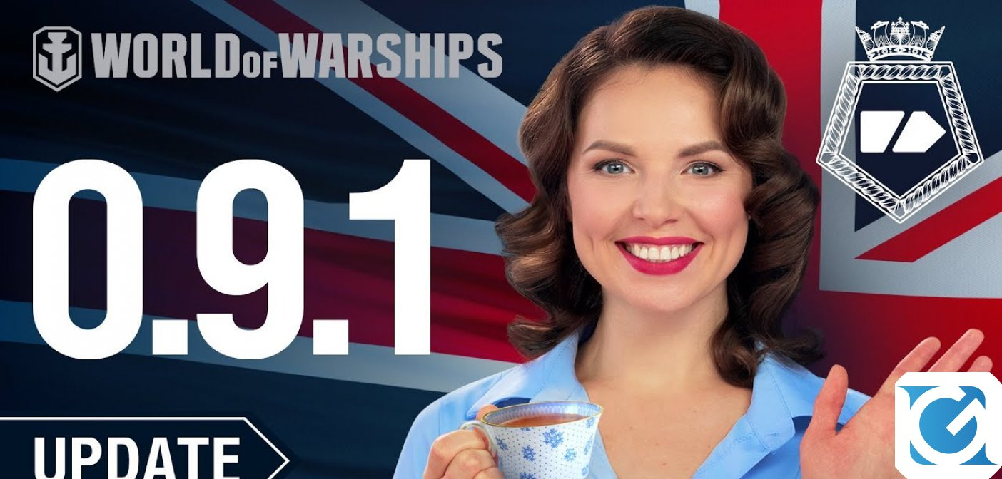 La marina militare britannica va a tutto vapore con l'introduzione di nuovi potenti incrociatori in World of Warships