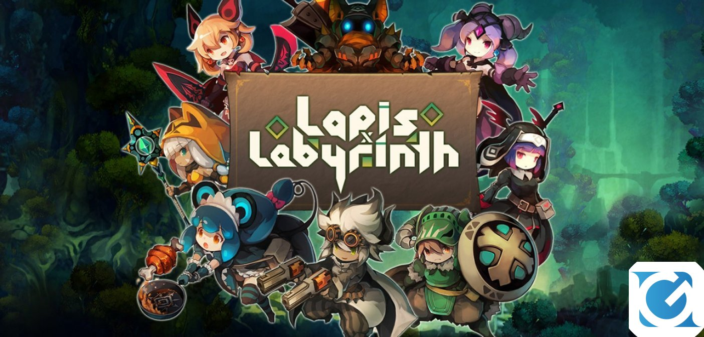 Lapis x Labyrinth è disponibile per PS 4 e Switch