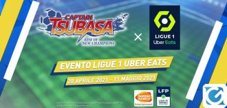 Le divise della Ligue 1 Uber Eats arrivano in Captain Tsubasa: Rise of New Champions
