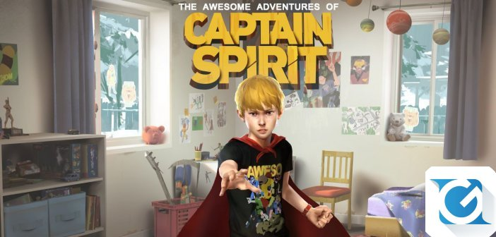 Le Fantastiche Avventure di Captain Spirit e' disponibile!
