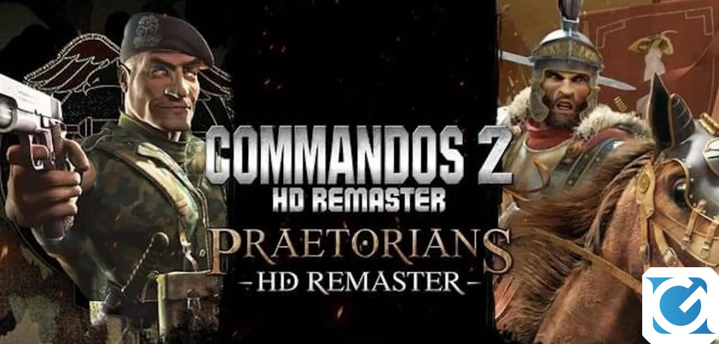 Commandos 2 and Praetorians Remastered