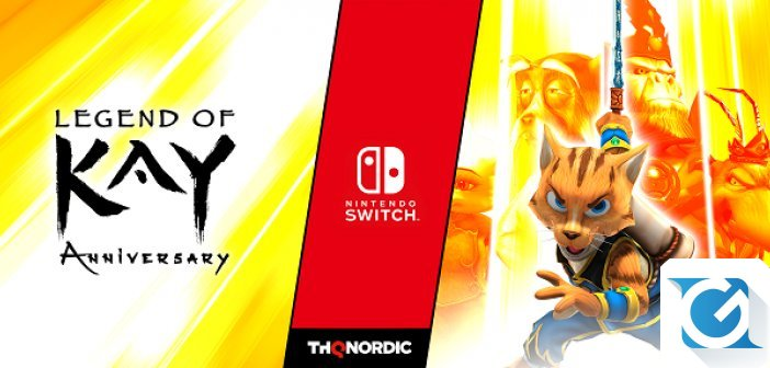 Legend Of Kay Anniversary arriva su Nintendo Switch
