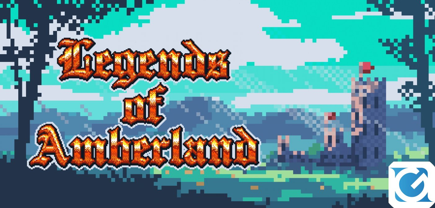 Legends of Amberland: The Forgotten Crown arriva su Switch il 20 aprile