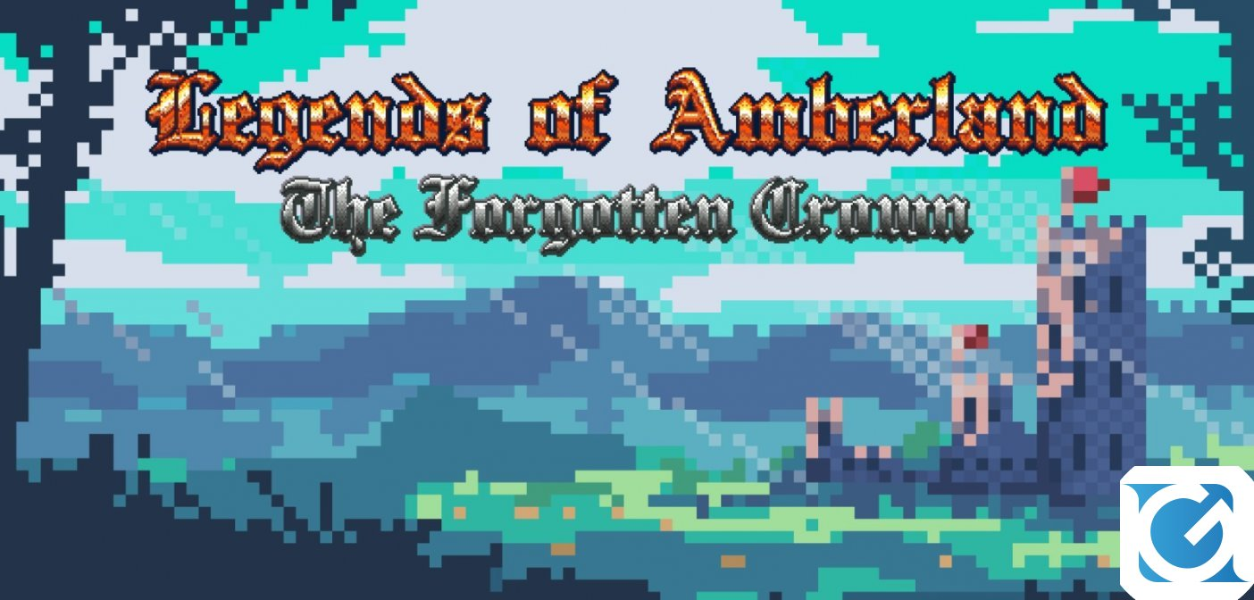 Legends of Amberland: The Forgotten Crown, un nuovo retro-rpg, arriva ad aprile su Switch