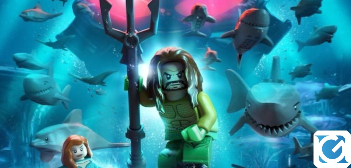 Aquaman arriva in LEGO DC Super Villains!