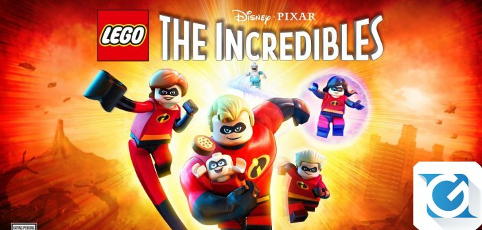 LEGO Disney Pixar Gli Incredibili e' disponibile